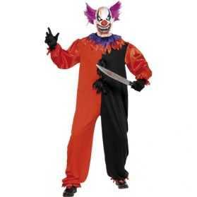 Déguisement Clown halloween taille M