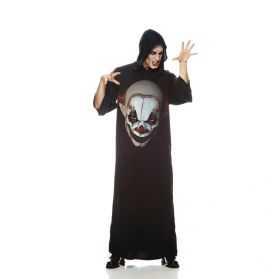 Robe tunique avec imprimé Tête de Clown