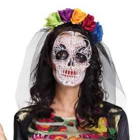 Voile Mariée Halloween