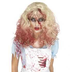 Perruque déguisement Zombie femme