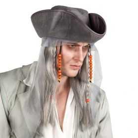 Perruque déguisement Pirate fantôme