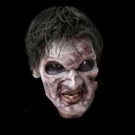 Prothèse visage pour se déguiser en Mort Vivant