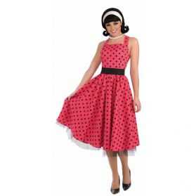 Robe à pois années 50