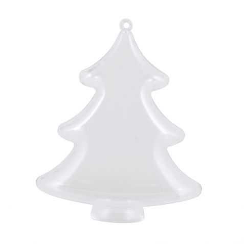 Boule de Noel en forme de Sapin de Noel