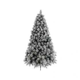 Grand Sapin de Noel artificiel blanc
