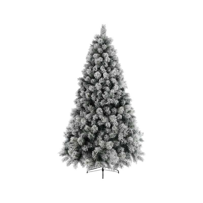 grand sapin de noel artificiel blanc sapin de noel artificiel avec neige. Black Bedroom Furniture Sets. Home Design Ideas