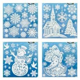 décoration de fenêtre Noel
