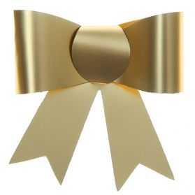 nœuds cadeaux dorés