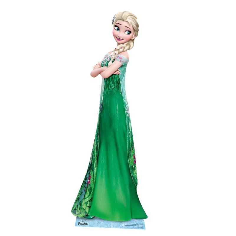D cor anniversaire reine des neiges figurine elsa - Elsa la reine ...