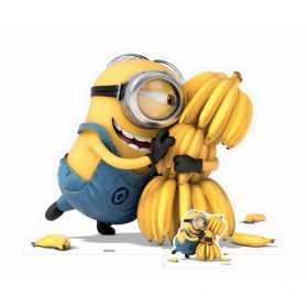 Figurine Les Minions avec ses bananes