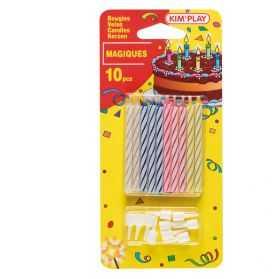 Blister de 10 Bougies magiques