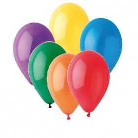 grand lot de ballons gonflables multicolores