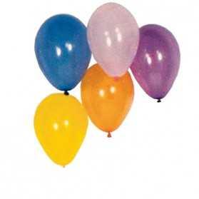 100 Ballons de Tir multicolores pour Kermesse