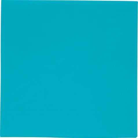 Serviettes bleues en papier