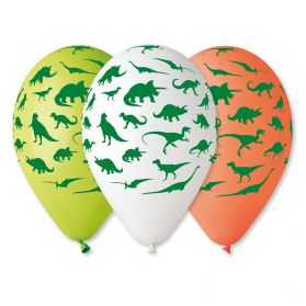 Ballons gonflables Dinosaure