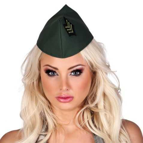 Képi militaire femme