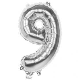 Ballon chiffre argent