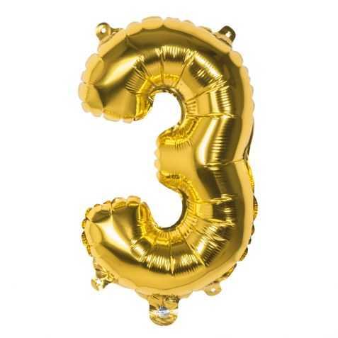 Ballon anniversaire en forme de chiffre