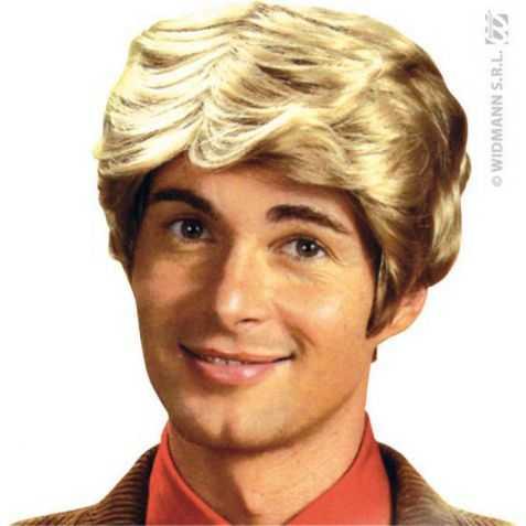 Perruque déguisement homme années 50