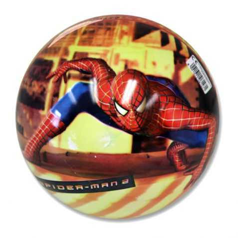 1 Balle Plastique Spiderman