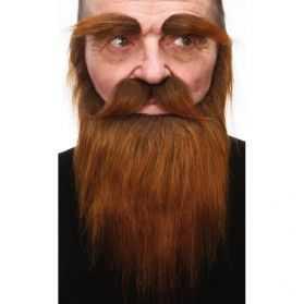 Postiches pour se déguiser en homme des bois