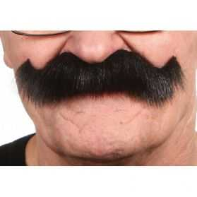 Moustache déguisement Cowboy