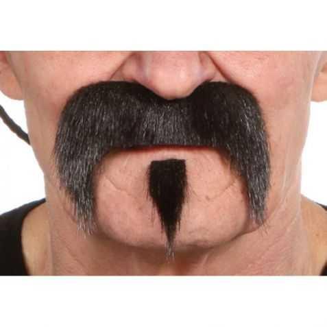 Moustache déguisement Western