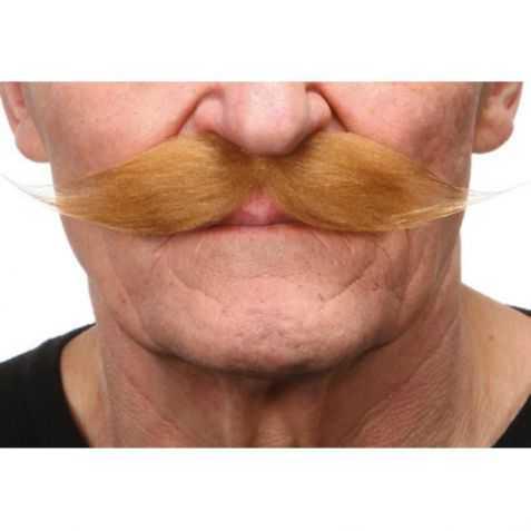 Moustache deguisement années 1900