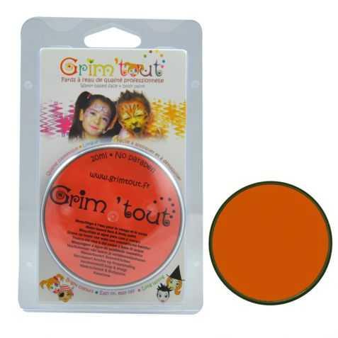 Maquillage orange enfant sans paraben