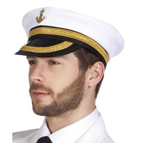 Casquette déguisement Amiral