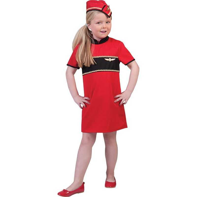 Deguisement Hotesse De L Air Enfant Uniforme Hotesse De L Air Fille