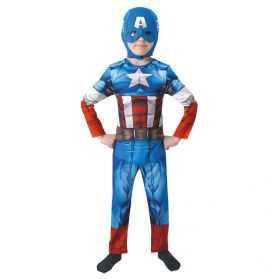 Déguisement Captain America enfant intégral
