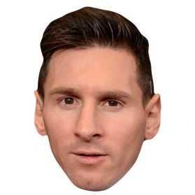 Masque Lionel Messi en carton