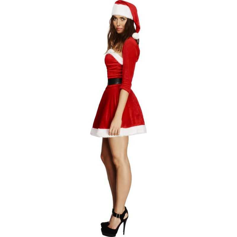 costume m re noel rouge d guisement miss noel. Black Bedroom Furniture Sets. Home Design Ideas