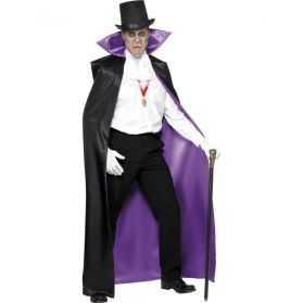 Cape déguisement de Vampire adulte