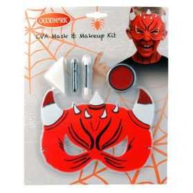 Kit Maquillage Diable et masque enfant