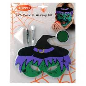 Kit Maquillage Sorcière et masque enfant