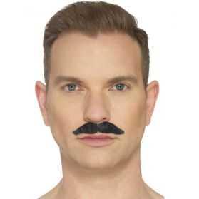 Moustache déguisement gangster