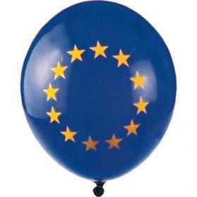 5 Ballons Drapeau européen
