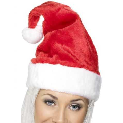 Bonnet de Père Noel velours