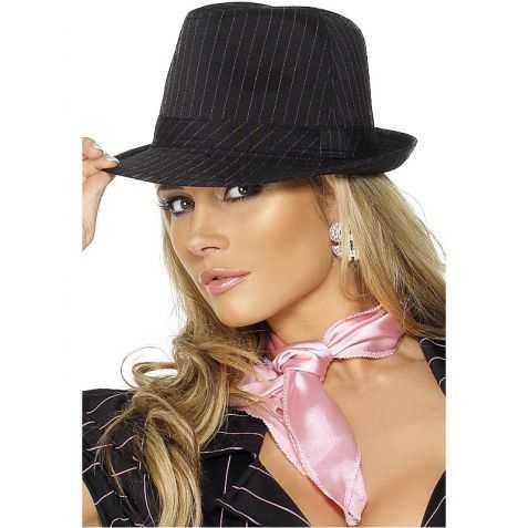Chapeau déguisement Gangster Femme