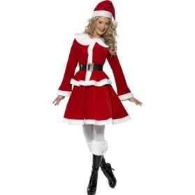 Costume Mère Noel adulte