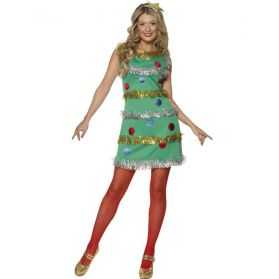 Robe déguisement Sapin de Noel