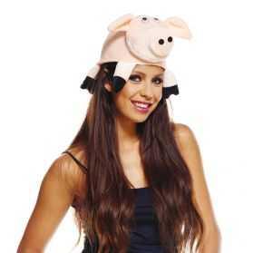 Chapeau déguisement de Cochon pour Adulte