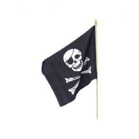 Drapeau Pirate à main