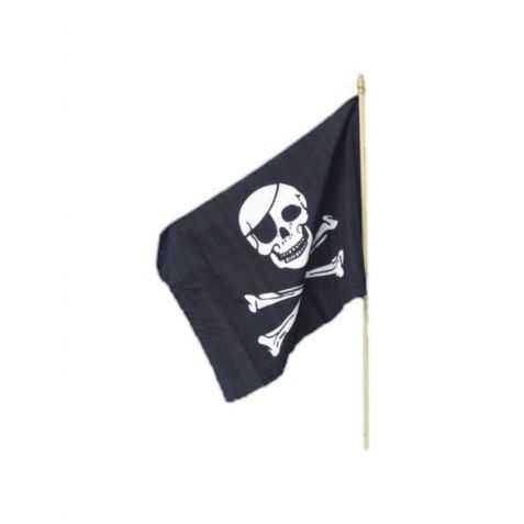 Drapeau Pirate à main
