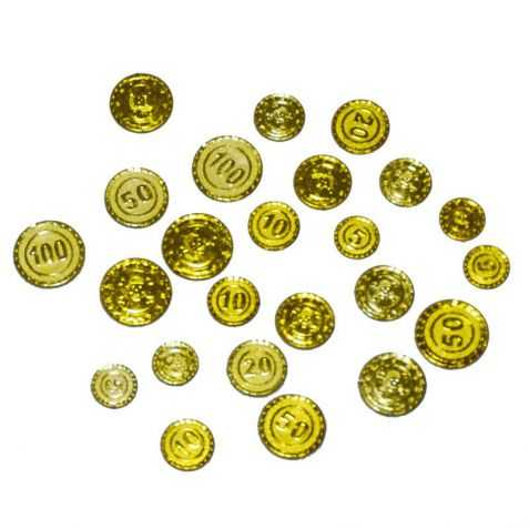pièces trésor de pirate