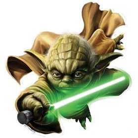 Décoration Maitre Yoda