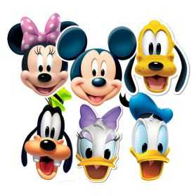 6 Masques MICKEY et ses amis