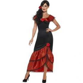 Robe danseuse flamenco adulte